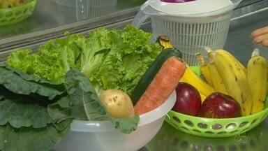 Reportagem dá dicas de como conservar alimentos - Especialista fala como manter alimentos por um tempo maior