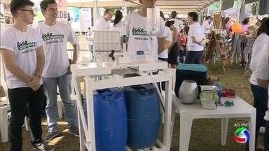 Tenda da agricultura no Ação Cidadania em Campo Grande - Evento levou várias ideias para a agricultura em Mato Grosso do Sul.