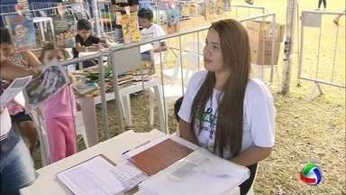 Tenda do IEL no Ação Cidadania em Campo Grande - Tenda oferece oportunidades de estágio e cursos.
