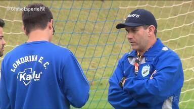 De folga, Londrina aproveita para fazer ajustes na equipe - De folga, Londrina aproveita para fazer ajustes na equipe