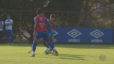 Cruzeiro treina em Belo Horizonte para o enfrentar o Sport pela Série A - Cruzeiro treina em Belo Horizonte para o enfrentar o Sport pela Série A