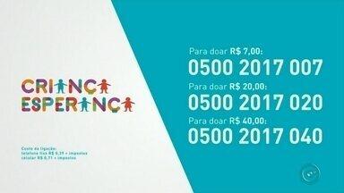 Veja como participar da campanha Criança Esperança 2017 - Neste sábado é dia de Show da Esperança, uma grande festa para celebrar o projeto Criança Esperança, uma iniciativa da Rede Globo com a Unesco. Veja como doar e colaborar com os projetos sociais em todo Brasil.