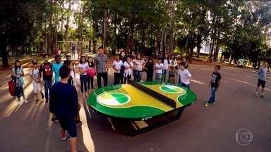 Com chancela de Neymar, Futmesa começa a ganhar espaço no Brasil - Com chancela de Neymar, Futmesa começa a ganhar espaço no Brasil.