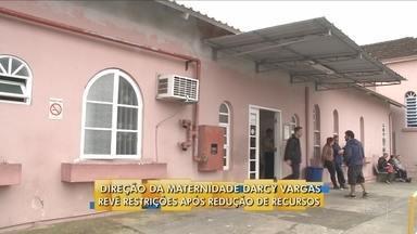 Direção de maternidade em Joinville revê restrições após redução de recursos - Direção de maternidade em Joinville revê restrições após redução de recursos