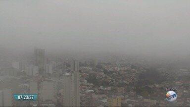 Segunda-feira começa nublada no Sul de Minas - Segunda-feira começa nublada no Sul de Minas