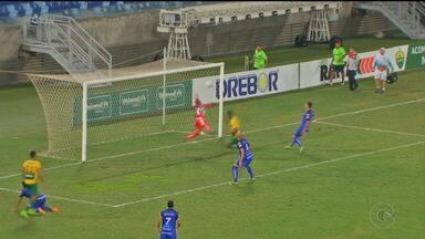 Salgueiro perde para o Cuiabá e sai do G-4 - O Carcará perdeu por 1 a 0.