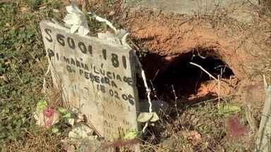 Cemitério do Bom Jardim vive situação de abandono - Visitantes cobram melhorias no local.