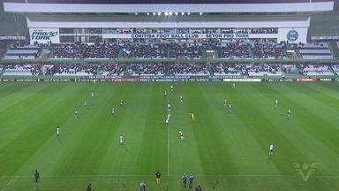 Coritiba e Santos ficam no empate sem gols - Coxa e Peixe empataram em 0 a 0 pelo Brasileiro.
