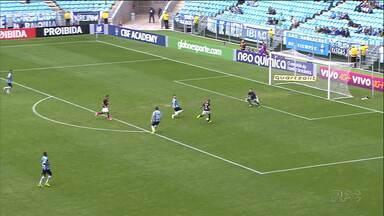 Atlético desperdiça chances e só empata com os reservas do Grêmio - Empate sem gols em Porto Alegre interrompe sequência de quatro vitórias do Furacão