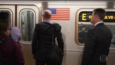 Passageiros que usam os metrôs de NY enfrentam diversos problemas - Fábio Turci mostra como os problemas com linhas de trem e de metrô nas grandes cidades são comuns e atrapalham a vida de milhares de pessoas.
