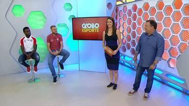 Mendoza e Uillian Correia participam do GE desta segunda (21) - Os jogadores comentaram os bons jogos disputados pela dupla BA-VI no fim de semana, pelo Campeonato Brasileiro.