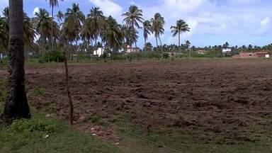 Campo de futebol usado em programa social foi destruído em Porto de Pedras - Mais de 300 crianças utilizavam o campinho.
