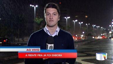 Confira a previsão do tempo para esta terça-feira na região - Frente fria deixa o Vale do Paraíba.