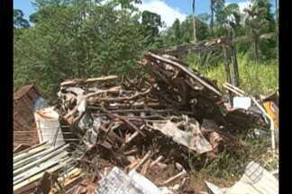 Canteiro de obra da usina de Belo Monte está abandonada e deve ser devolvida à comunidade - A área deve ser utilizada para agricultura familiar