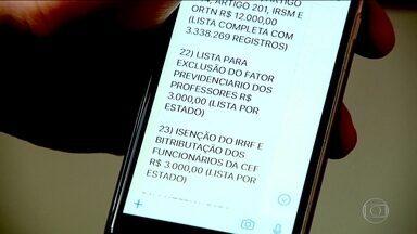 Dados sigilosos são vendidos para bancos, financeiras e até advogados - Informações pessoais à venda vão do CPF até o banco em que tem conta. O banco de dados relacionado a um CNPJ chega a custar R$ 3 mil.