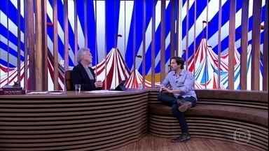 Vladimir Brichta fala sobre a luta pela guarda da filha - O ator diz que teve medo de expor a história e ofuscar a sua carreira