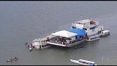 No Pará, já são 21 os mortos em naufrágio no Rio Xingu - Mergulhadores encontraram embarcação carregada de mantimentos. Barco não estava autorizado a transportar passageiros, segundo agência.