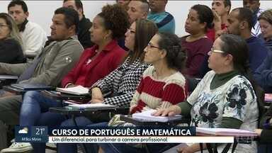 Prefeitura de Guarulhos cria curso de português e matemática - É um reforço escolar que já pode ajudar a subir na carreira ou passar em um teste de seleção.