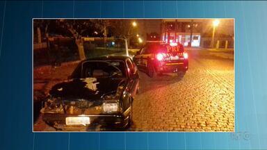 Adolescente atropela e mata três mulheres em Campo Largo - O motorista fugiu sem prestar socorro.