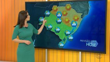 Tempo: chuva deve atingir a maior parte do RS neste sábado (26) - Assista ao vídeo.