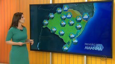 Tempo: há alerta de temporal neste domingo (27) para o RS - Assista ao vídeo.