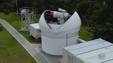 Observatório Brasileiro de Astronomia no sul de MG exporta tecnologia para o Japão - Maior telescópio brasileiro está localizado no local, na Serra da Mantiqueira.