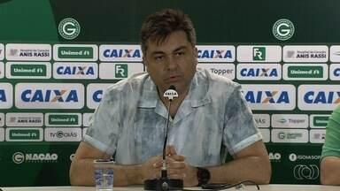 Marcelo Almeida começa mandato como presidente do Goiás e toma as primeiras medidas - Sucessor de Sérgio Rassi, que renunciou ao cargo, dirigente anuncia retorno do técnico Sílvio Criciúma, fim do Time B e pausa nas contratações.