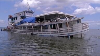 Ministério Público do Pará abre inquérito para investigar responsáveis por naufrágio - As buscas no rio Xingu foram encerradas, depois de mais de 60 horas de trabalho.O barco vai ser periciado assim que for retirado da água. vinte e três pessoas morreram no naufrágio. Entre as vítimas estavam oito crianças e uma grávida.