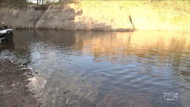 Rios e Riachos em Balsas estão com nível de água baixo - Rios e riachos que banham a cidade estão com o nível da água muito baixo e não é apenas por causa da estiagem.