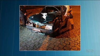 Vários acidentes graves foram registrados nas rodovias e na cidade de Curitiba - Pelo menos cinco pessoas morreram nos acidentes.