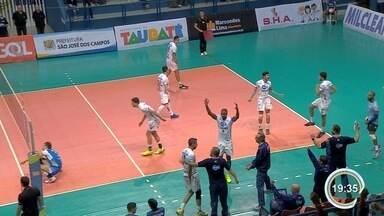 Taubaté vence São José pelo Paulista de Vôlei - Equipe de Taubaté venceu duelo por 3 a 1.