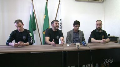 Imagens mostra situação da carceragem de Beltrão depois da rebelião - Delegados falaram sobre o caso em entrevista coletiva.