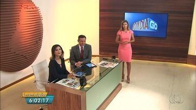 Veja o que é destaque no Bom Dia Goiás desta segunda-feira (28) - Entre os principais assuntos está um assalto a 30 pessoas durante uma festa infantil em Goiânia.
