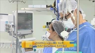 Cirurgias eletivas serão suspensas no Hospital Infantil, em Florianópolis - Cirurgias eletivas serão suspensas no Hospital Infantil, em Florianópolis