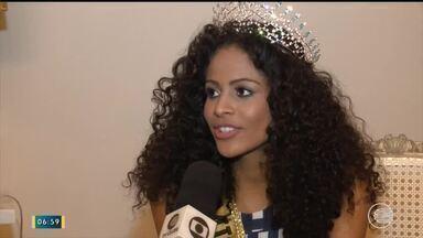 Miss Brasil volta a Teresina e fala sobre sua trajetória em entrevista ao Bom Dia Piauí - Miss Brasil volta a Teresina e fala sobre sua trajetória em entrevista ao Bom Dia Piauí