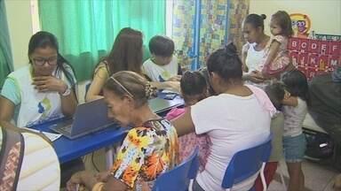 Moradores do Bairro Planalto receberam serviços gratuitos em ação social em Porto Velho - Mais de 100 voluntários atenderam os moradores em diversas áreas.