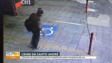 Homem mata dois moradores de rua em São Paulo - Ele matou com golpes de barra de ferro. Um dos mortos era um inglês que morava na região.
