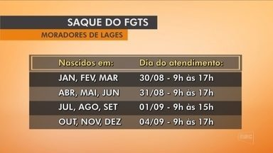 Caixa libera retirada do FGTS para atingidos por chuvas em Lages e São José do Cerrito - Caixa libera retirada do FGTS para atingidos por chuvas em Lages e São José do Cerrito