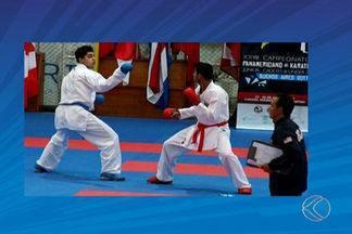 Carateca de Uberlândia conquista bronze no Pan-Americano de Caratê - Rhuan Fonseca defendia o título na modalidade Kumitê, categoria até 76 kg em Buenos Aires, na Argentina