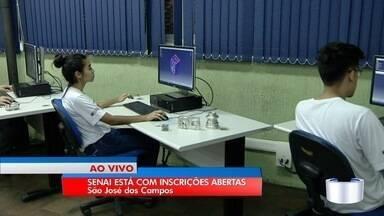 Senai está com inscrições abertas para cursos profissionalizantes em São José - São 126 vagas para dois tipos de cursos.