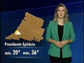 Umidade relativa do ar volta a cair no Oeste Paulista - Confira a previsão do tempo para a região.