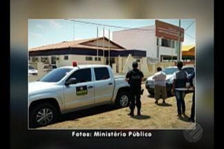 Operação da Polícia Federal prendeu um delegado e dois investigadores de Canãa dos Carajas - Os policiais são suspeitos de liberar ilegalmente motos apreendias no município