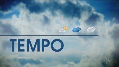 Veja a previsão do tempo para esta quarta-feira (3) - Dados são do Sipam.