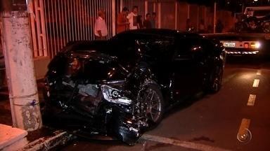 Justiça faz audiência sobre batida envolvendo carro esportivo que matou idoso em Araçatuba - A Justiça faz na tarde desta quarta-feira (30) mais uma audiência do caso do empresário dono de um Mustang que provocou um acidente matando um comerciante em Araçatuba (SP), em fevereiro do ano passado.