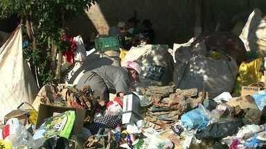 Em Toledo apenas 40% do lixo é reciclado - Aos poucos a estrutura oferecida pelo município para a separação está melhorando e os moradores se conscientizando.