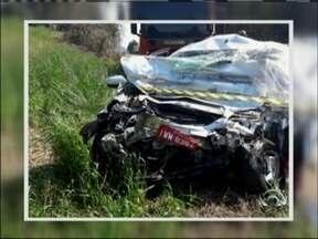 Mulher morreu em acidente na RS 324 em Casca, RS - Carro bateu de frente com uma carreta