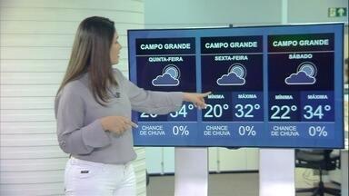 Veja previsão do tempo para quinta-feira (31) em MS - Veja previsão do tempo para quinta-feira (31) em MS.