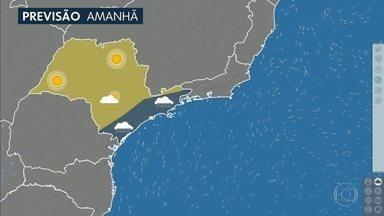 Confira a previsão do tempo para a quinta-feira (31) em São Paulo - O dia começa com 14 graus à tarde faz 20 graus. E o sol pouco aparece.