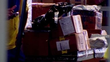 Máquinas quebradas nos Correios atrasam entregas de encomendas - Demora na entrega tem sido alvo de reclamações dos clientes,