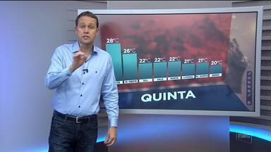 Confira a previsão do tempo para Santa Catarina nesta quinta-feira (31) - Confira a previsão do tempo para Santa Catarina nesta quinta-feira (31)